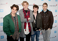 The Vamps, WE Day 2017 - UK Red Carpet Arrivals, Wembley Arena, London UK, 22 March 2017, Photo by Brett D. Cove