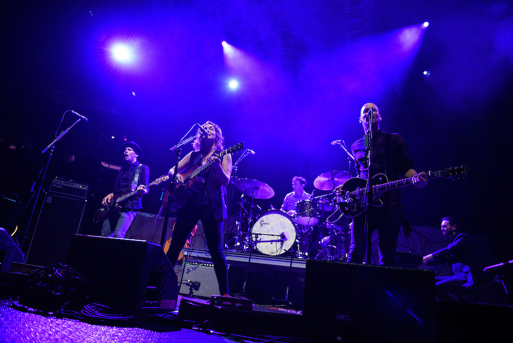 Photos of Brandi Carlile performing live at Madison Square Garden, NYC on April 8, 2016. © Matthew Eisman/ Getty Images. All Rights Reserved