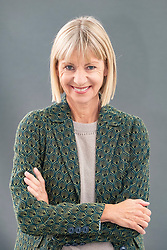 "Edinburgh, Scotland, UK; 17 August, 2018. Pictured; Author Kate Mosse. Her book ""The Burning Chambers"" is the first volume of an epic new series. Ranging across 300 years, from the 16th century to 19th century Southern Africa it contains hidden secrets, dangerous missions, love, betrayal and battle lines drawn in blood."