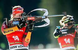 HINZ Vanessa (GER) competes during Women 12,5 km Mass Start at day 4 of IBU Biathlon World Cup 2014/2015 Pokljuka, on December 21, 2014 in Rudno polje, Pokljuka, Slovenia. Photo by Vid Ponikvar / Sportida