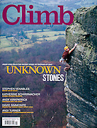 Cover, Climb Magazine