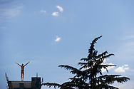 WASSEN Christina GER<br /> Bolzano, Italy <br /> 22nd FINA Diving Grand Prix 2016 Trofeo Unipol<br /> Diving<br /> Women's 10m platform semifinal <br /> Day 01 15-07-2016<br /> Photo Giorgio Perottino/Deepbluemedia/Insidefoto