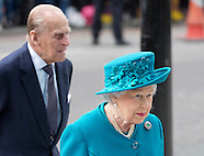 Duke of Edinburgh and Queen Elizabeth 14 Feb 2017