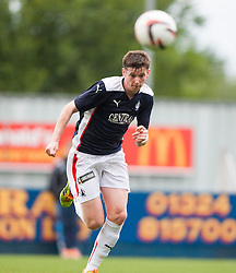 Falkirk's Conor McGrandles. Falkirk  2 v 2 Rotherham Utd, pre-seaon friendly.<br /> &copy; Michael Schofield.