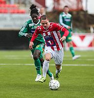 FotballFørstedivisjonTromsø IL vs HamKam27.04.2014Kent-Are Antonsen, TromsøIke Fofana, HamKam