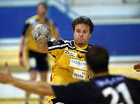 Håndball, 11. desember 2002. Eliteserien, Gildeserien herrer, Kragerø - Stord 25-32. Paul Gundersen , Kragerø