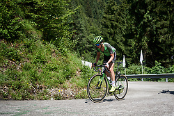 Sabrina Stultiens (NED) on Monte Zoncolan at Giro Rosa 2018 - Stage 9, a 104.7 km road race from Tricesimo to Monte Zoncolan, Italy on July 14, 2018. Photo by Sean Robinson/velofocus.com