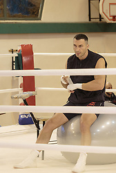 10.11.2015, Stanglwirt, Going, AUT, Wladimir Klitschko, Training, Kampfvorbereitung gegen Tyson Fury (GBR), im Bild Wladimir Klitschko // Wladimir Klitschko during a training session in front of his Fight against Tyson Fury (GBR) at the Stanglwirt in Going, Austria on 2015/11/10. EXPA Pictures © 2015, PhotoCredit: EXPA/ Johann Groder