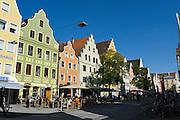 Theresienstraße, Fußgängerzone, Altstadt, Ingolstadt, Bayern, Deutschland | Theresien Street, pedestrian mall, old town, Ingolstadt, Bavaria, Germany