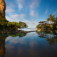Infinity Pool at Rayavadee Resort, Krabi Thailand