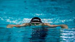 13-04-2018 NED: Swim Cup, Eindhoven<br /> Arno Kamminga wint de 200 meter schoolslag