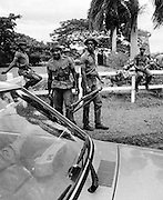 Road Block in uptown Kingston - Jamaica 1978