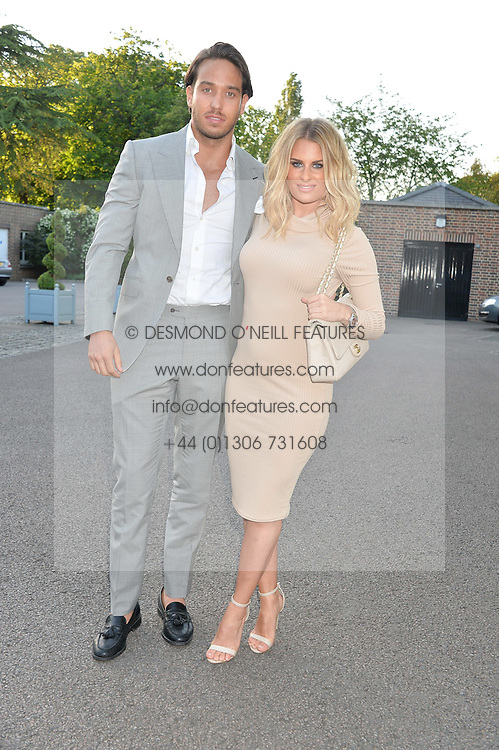 JAMES LOCK and DANIELLE ARMSTRONG at the Ben Cohen Stand Up Foundation Gala evening at The Hurlingham Club, Ranelagh Gardens, London on 21st May 2015.