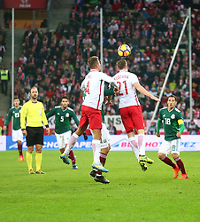 November 13, 2017 - Gdansk, Poland - Tomasz Kedziora during the international friendly soccer match between Poland and Mexico at the Energa Stadium in Gdansk, Poland on 13 November 2017  (Credit Image: © Mateusz Wlodarczyk/NurPhoto via ZUMA Press)