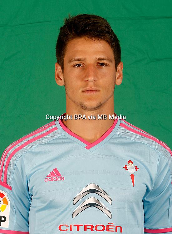 Spain - La Liga BBVA  2014-2015 / <br /> ( R.C. Celta de Vigo ) - <br /> Nemanja Radoja