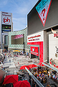 Fashion Show Mall A shopping mall and entertainment district that features fashionable clubs, gourmet restaurants, retailers, galleries, incidental offices and support areas. Located on the Las Vegas Strip, Nevada, USA