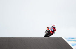 October 21, 2017 - Melbourne, Victoria, Australia - Spanish rider Jorge Lorenzo (#99) of Ducati Team in action during the third free practice session at the 2017 Australian MotoGP at Phillip Island, Australia. (Credit Image: © Theo Karanikos via ZUMA Wire)