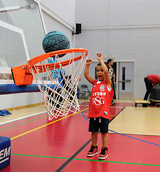 - Photo mandatory by-line: Joe Meredith/JMP - Mobile: 07966 386802 - 18/04/2015 - SPORT - Basketball - Bristol - SGS Wise Campus - Bristol Flyers v Leeds Force - British Basketball League
