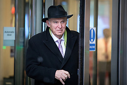 © Licensed to London News Pictures. 10/12/2017. London, UK. Leader of the Liberal Democrats Vince Cable leaving BBC Broadcasting House this morning. Photo credit : Tom Nicholson/LNP