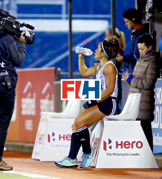 New Zealand, Auckland - 19/11/17  <br /> Sentinel Homes Women&rsquo;s Hockey World League Final<br /> Harbour Hockey Stadium<br /> Copyrigth: Worldsportpics, Rodrigo Jaramillo<br /> Match ID: 10298 - ARG vs ENG<br /> Photo: (15) GRANATTO Maria Eugenia