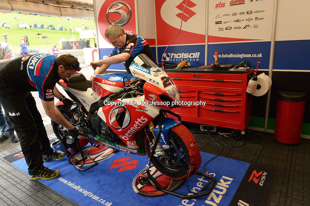#21 Josh Waters Bennetts Suzuki Halsall MCE British Superbikes