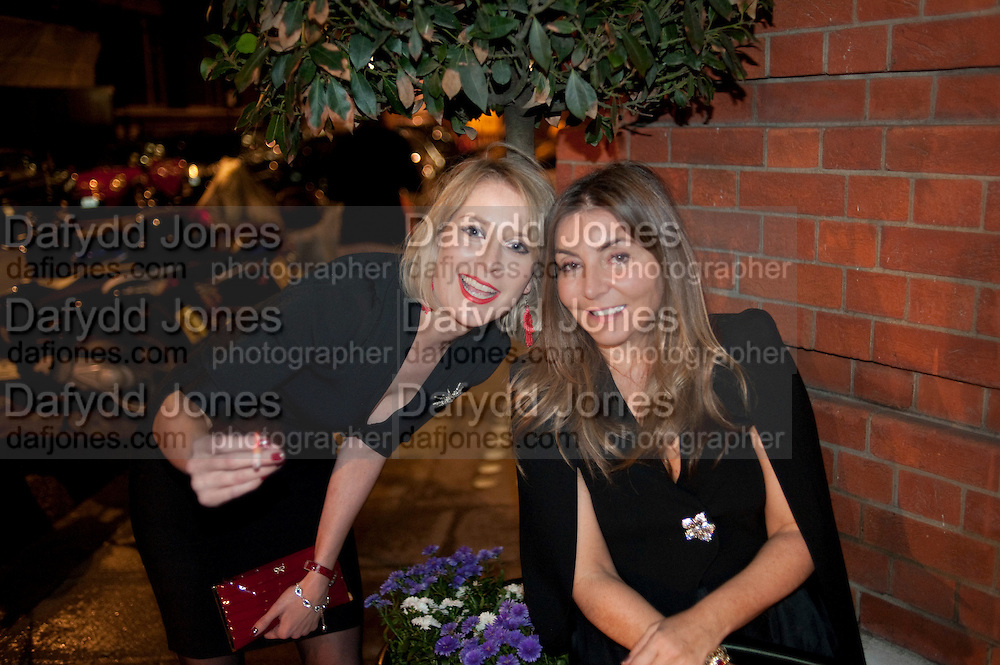 TICKY HEDLEY-DENT; VASSI CHAMBERLAIN; , Maggie's autumn fundraiser in aid of the Cancer charity. .  Phillips de Pury &amp; Company, 9 Howick Place, London <br /> www.maggiescentres.org. 27 September 2010. <br /> <br /> -DO NOT ARCHIVE-&copy; Copyright Photograph by Dafydd Jones. 248 Clapham Rd. London SW9 0PZ. Tel 0207 820 0771. www.dafjones.com.