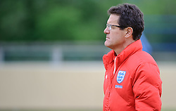 19.05.2010, Arena, Irdning, AUT, FIFA Worldcup Vorbereitung, Training England, im Bild Fabio Capello, Teamchef England, EXPA Pictures © 2010, PhotoCredit: EXPA/ S. Zangrando / SPORTIDA PHOTO AGENCY