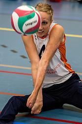22-09-2017 NED: Training zitvolleybalsters Oranje 2017-2018, Leersum<br /> Nederland bereidt zich voor op het komende EK zitvolleybal / Ellen Ceelen #4