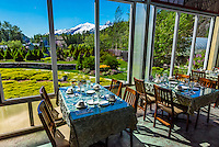 Poppies Restaurant at Jewell Gardens, Skagway, Alaska USA.