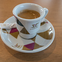 """My first """"bica"""" in Portugal. Just perfect anf for $0.60 I can't just have one!"""