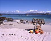 Sandy beach on the isle of Iona, Argyll