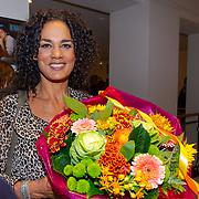 NLD/Amsterdam/20190912 - Expositie opening hoezencollectie Govert de Roos, Chimene van Oosterhout