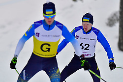 MAKHOTKIN Oleksandr Guide:  KLAUSMANN LP, UKR, B3 at the 2018 ParaNordic World Cup Vuokatti in Finland