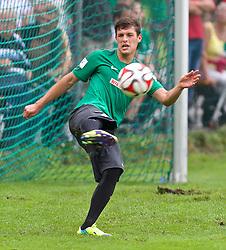 23.07.2014, Parkstadion, Zell am Ziller, AUT, SV Werder Bremen Trainingslager, im Bild Zlatko Junuzovic (SV Werder Bremen #16) beim Schuss // during the Preparation Camp of the German Bundesliga Club SV Werder Bremen at the Parkstadion in Zell am Ziller, Austria on 2014/07/23. EXPA Pictures © 2014, PhotoCredit: EXPA/ Andreas Gumz<br /> <br /> *****ATTENTION - OUT of GER*****