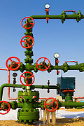 Oil Refinery Piping system