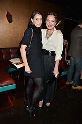 Left to right, GEORGIE RYLANCE and MARTHA SITWELL at a party in aid of the Youth at Risk charity held at Raffles, 287 King's Road, London on 27th November 2013.