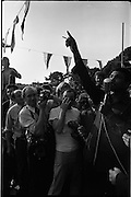 15/07/1972<br /> 07/15/1972<br /> 15 July 1972<br /> Muhammad Ali at Stewarts Hospital Fete, Palmerstown, Dublin. Ali giving his speech.