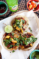 Tacos al Pastor from La Vallesana on Cherokee Street in St. Louis, MO.