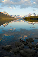 Maligne Lake in Spring.