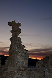 """Sunset at Mono Lake 8"" - These tufas were photographed at the South Tufa area in Mono Lake, California."