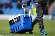 Staff wheel off the drinks container ahead of the EFL Sky Bet League 2 match between Chesterfield and Exeter City at the Proact stadium, Chesterfield, England on 18 November 2017. Photo by Aaron  Lupton.