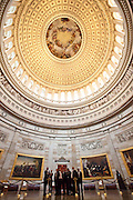 United States Capital Building Rotunda in Washington, DC