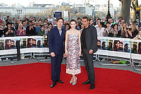Thomas Vinterberg, Carey Mulligan, Matthias Schoenaerts, Far From the Madding Crowd - World Film Premiere, BFI Southbank, London UK, 15 April 2015, Photo by Richard Goldschmidt