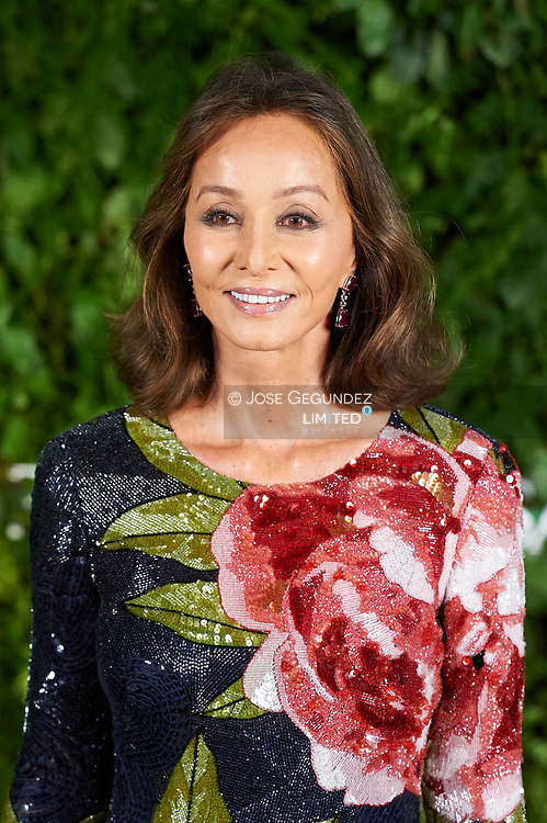 Isabel Preysler attended the Opening of a Porcelanosa store on June 14, 2017 in Madrid