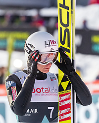 16.03.2019, Vikersundbakken, Vikersund, NOR, FIS Weltcup Skisprung, Raw Air, Vikersund, Teambewerb, im Bild Daniel Huber (AUT) // Daniel Huber of Austria during the team competition of the 4th Stage of the Raw Air Series of FIS Ski Jumping World Cup at the Vikersundbakken in Vikersund, Norway on 2019/03/16. EXPA Pictures © 2019, PhotoCredit: EXPA/ JFK