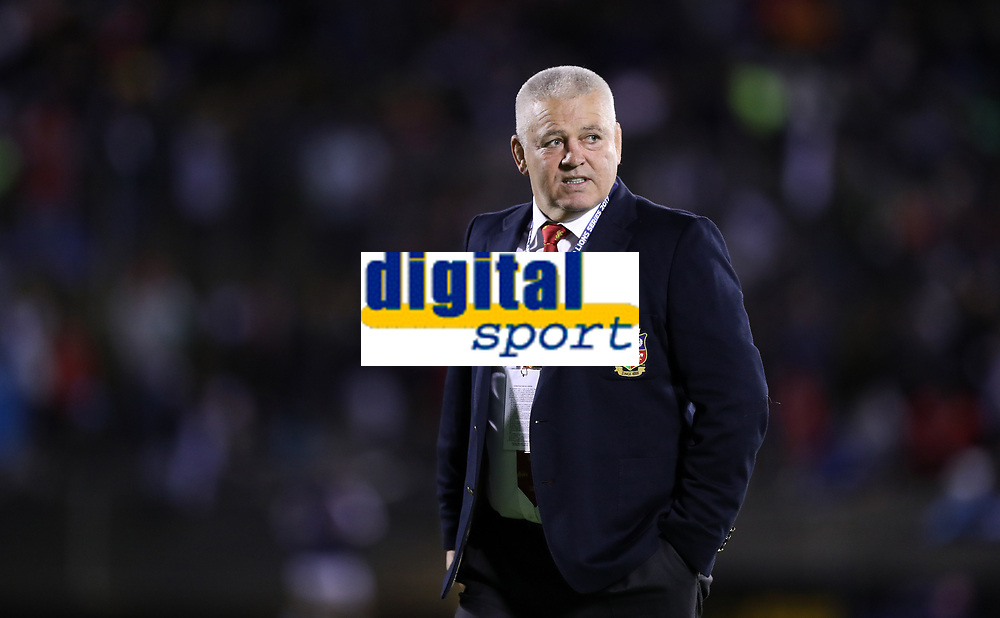 Rugby Union - 2017 British & Irish Lions Tour of New Zealand - New Zealand Provincial Barbarians vs. British & Irish Lions<br /> <br /> Warren Gatland Head Coach of The British and Irish Lions New Zealand before the match at Toll Stadium [Okara Park], Whangarei.<br /> <br /> COLORSPORT/LYNNE CAMERON
