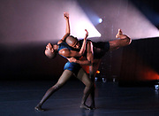 "Ailey II dancers perform during Ailey II's ""All New"" Program Preview at The Alvin Ailey Citigroup Theater in New York City, New York on March 13, 2018."