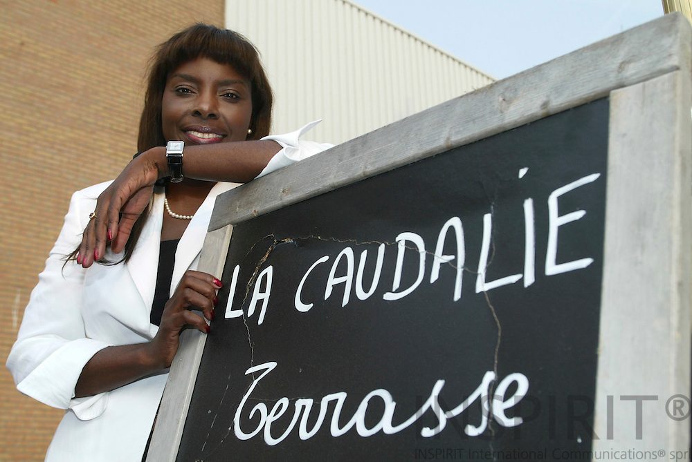 BRUSSELS - BELGIUM - 05 MAY 2006 -- Mathilde NANKWAYA, Founder and Director of NOBELUX, Belgian - Luxembourg - Nordic Countries Chamber of Commerce. PHOTO: ERIK LUNTANG /