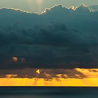 Sunrise on Hawaii.