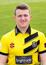Josh Shaw of Gloucestershire Cricket poses for a headshot in the NatWest T20 Blast kit - Mandatory by-line: Robbie Stephenson/JMP - 04/04/2016 - CRICKET - Bristol County Ground - Bristol, United Kingdom - Gloucestershire  - Gloucestershire Media Day